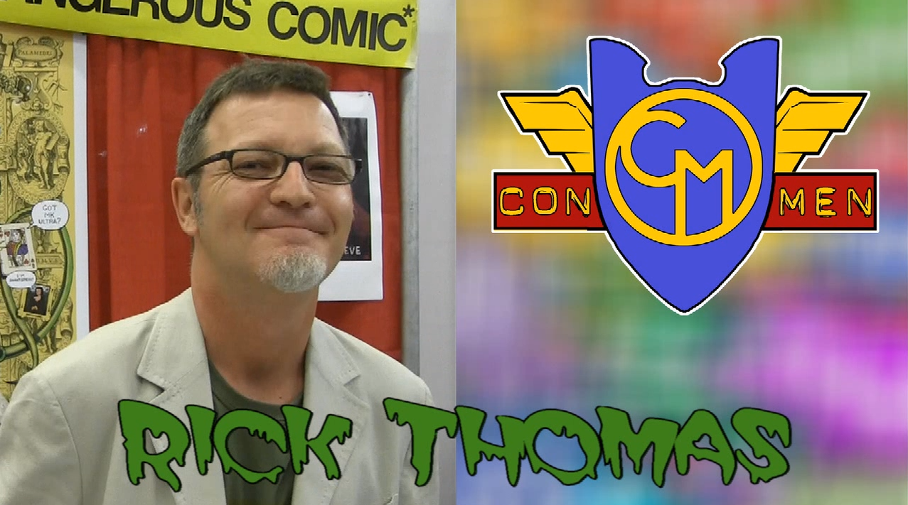Con Men Interviews: Rick Thomas - Creator of Beside Top Secret