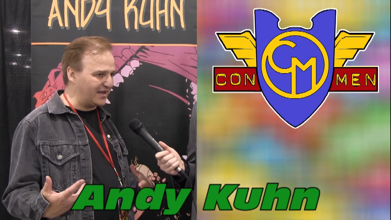 Con Men Interviews: Artist Andy Kuhn on Firebreather & TMNT
