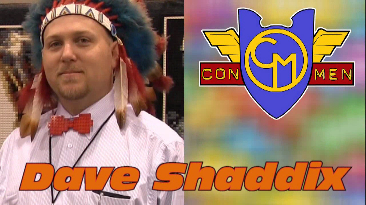 Con Men Interviews: Dave Shaddix - LEGO Artist