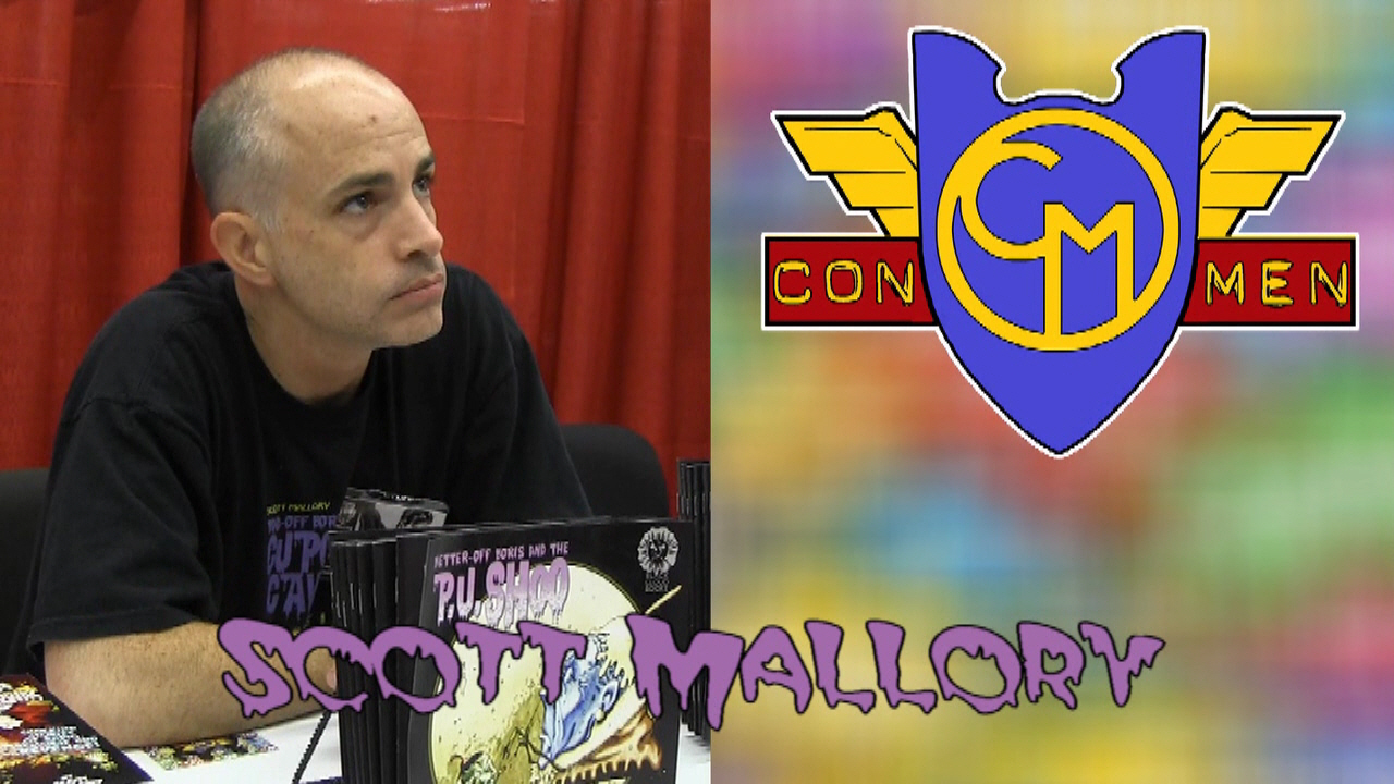 Con Men Interviews: Scott Mallory - Author of Bad-Off Boris and the Cupcake Cave-In