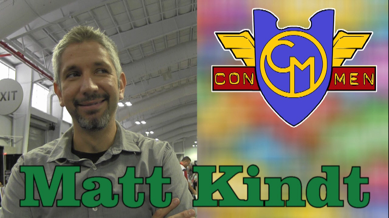 Con Men Interviews: Matt Kindt on Mind MGMT & Marvel Knights: Spider-Man